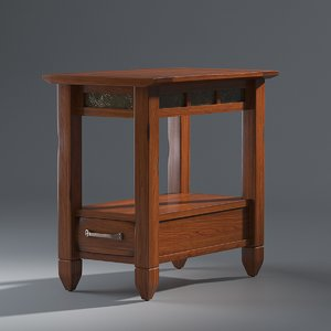 3D atkinson end table