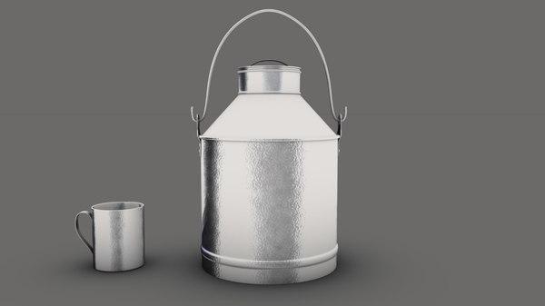 3D milk ca