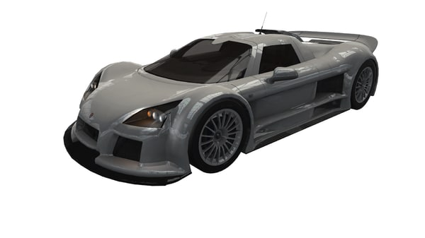 3D model gumpert apollo