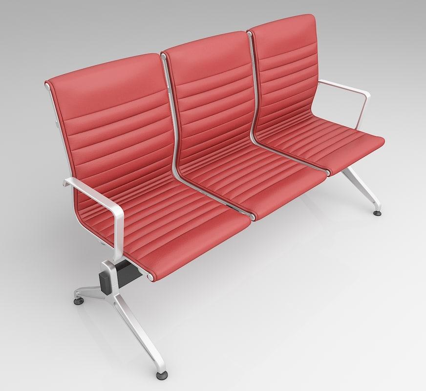 3D modern seating model