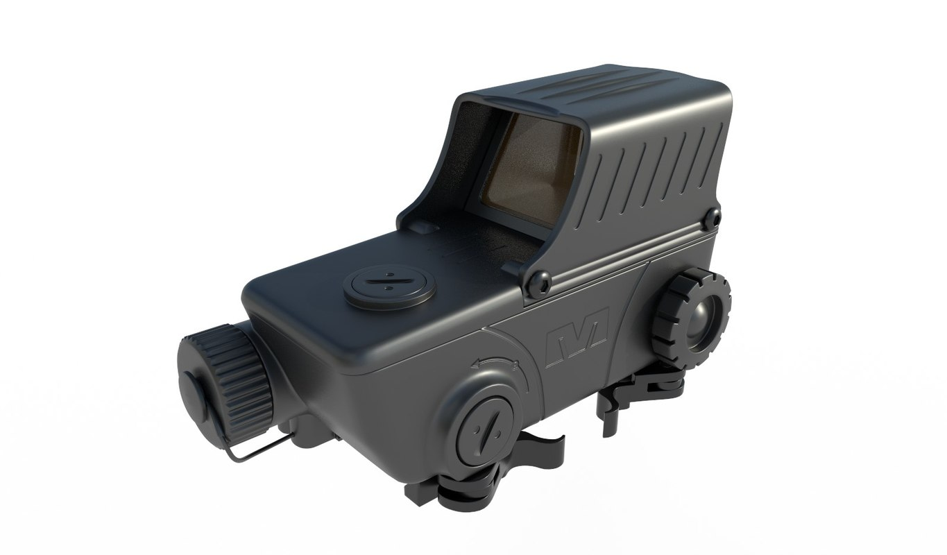 meprolight mepro red dot 3D