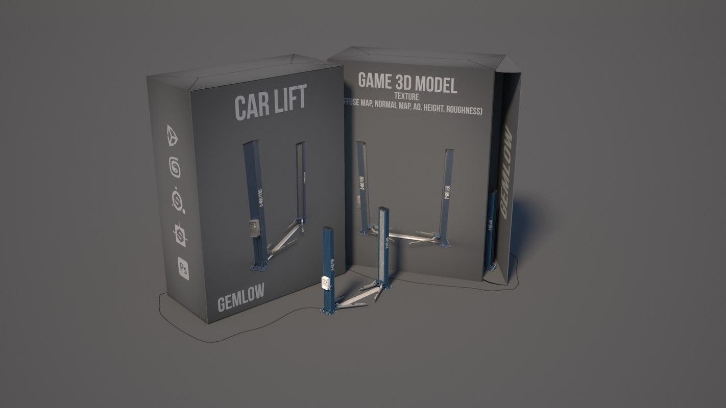 car lift 3D