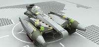 lego sw grieviou starfighter model