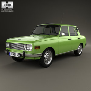 wartburg 353 w 3D model