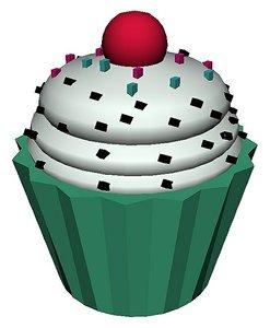 cupcake cake model