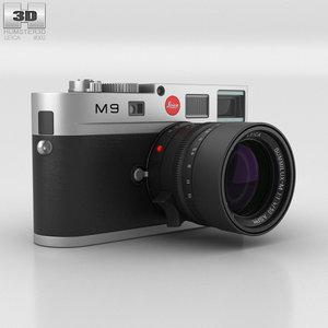 leica m9 m 3D model