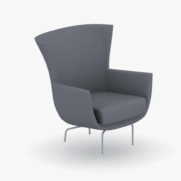 - armchair chair stool model
