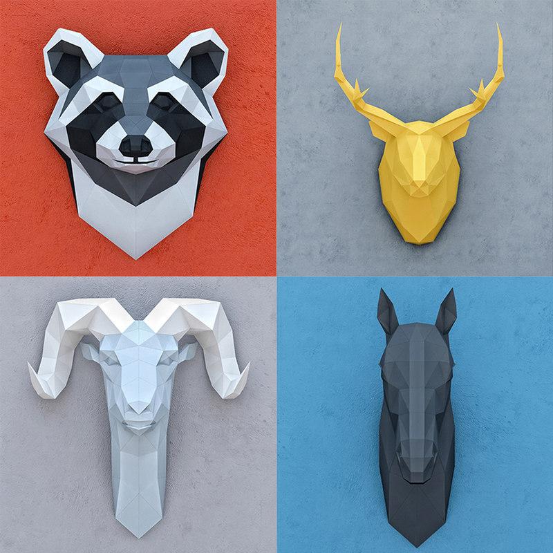 3D polygonal paper