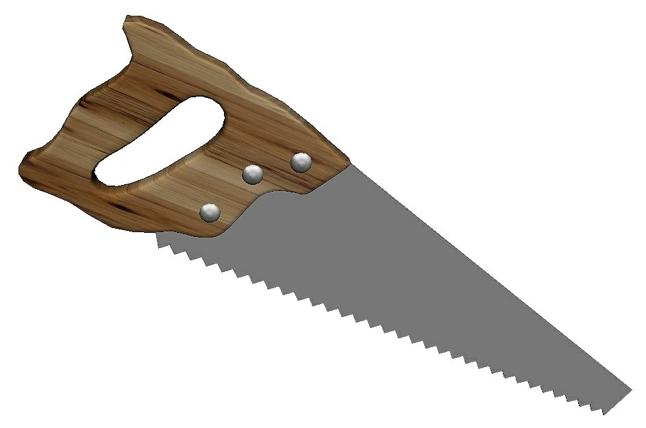 3D hand saw