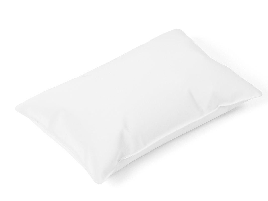 3D model sleeping pillow