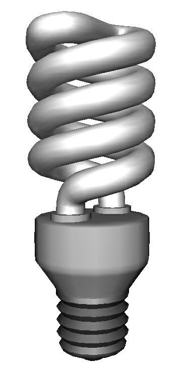 3D model light bulb - new