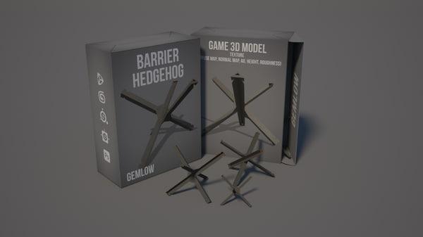 barrier hedgehog 3D