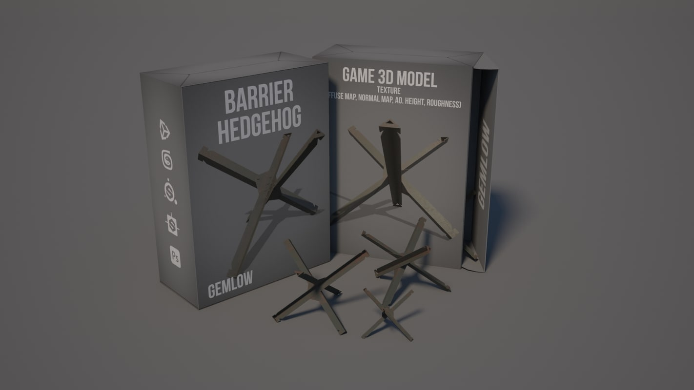 barrier hedgehog 3D