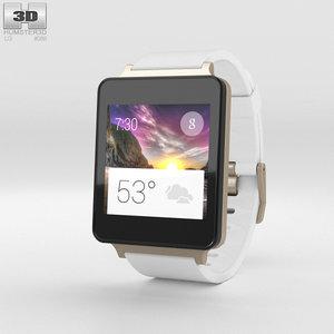 lg g watch 3D
