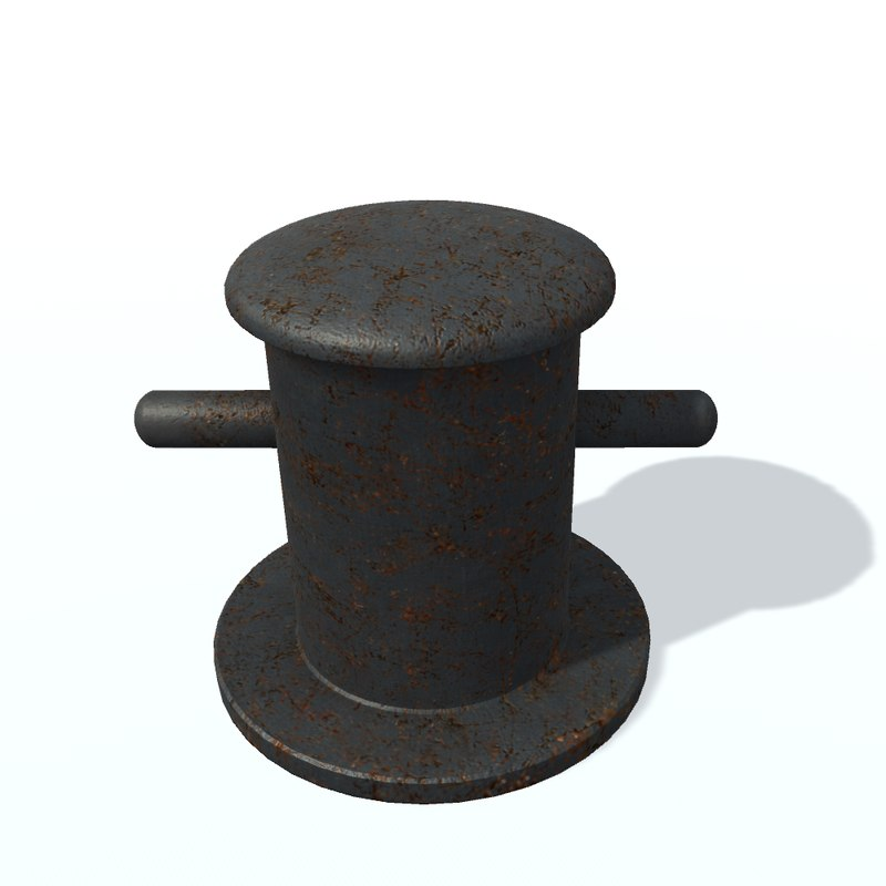 3D bitt vessel unity