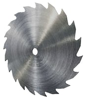 3D rip saw blade model