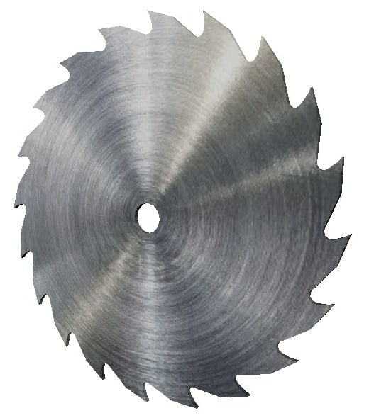 3D rip saw blade model