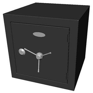 safe cube 3D