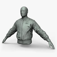 High Poly Pilots Jacket