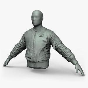 3D ztool pilots jacket