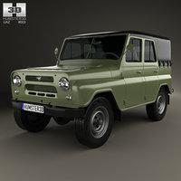 uaz 469 b 3D