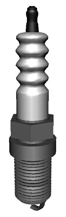 3D spark plug