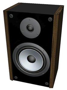 3D model speakers - house