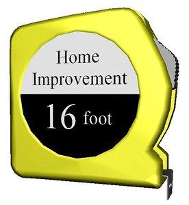 yellow tape measure 3D model