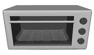 toaster oven 3D model