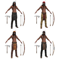pack native american 3D