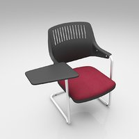 student chair furniture 3D model