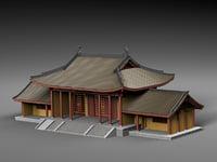 gates temple 3D