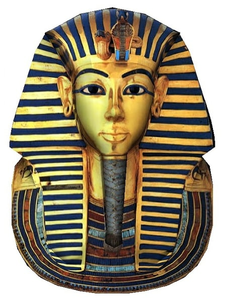 3D king tut mask