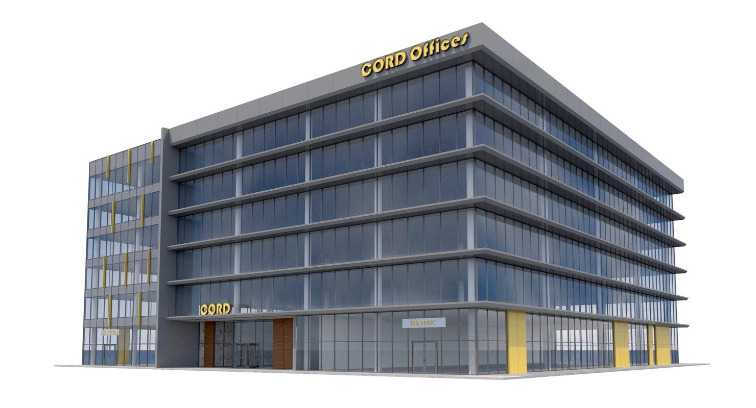 building retail store 3D model