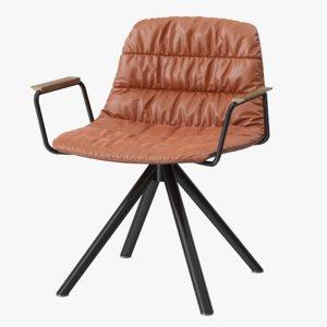 viccarbe maarten armchair 3D