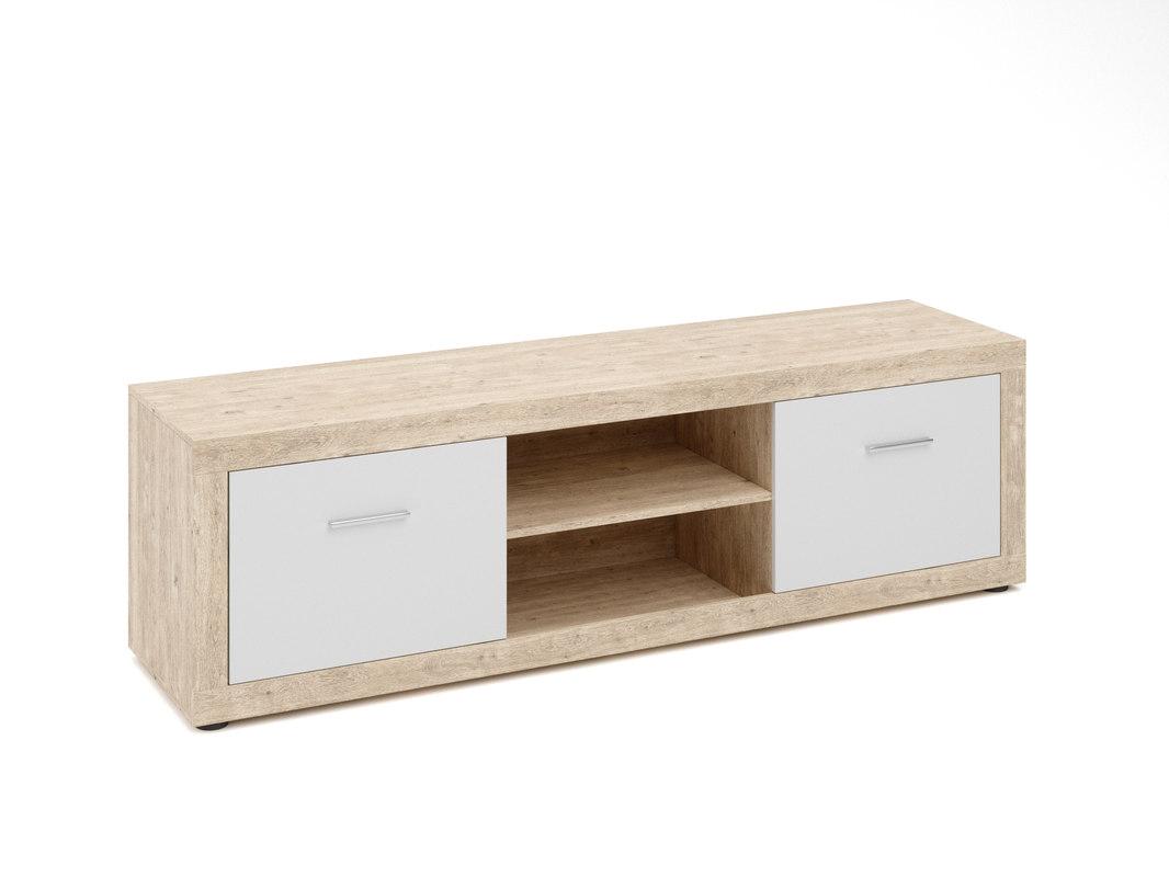 3d Tv Cabinet Jysk Favrbo Turbosquid 1260512