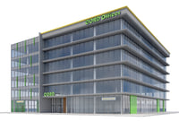 office building 3D