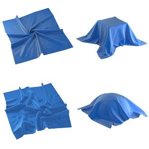 3D model fabric set