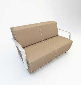 waiting chair 3D model