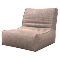 3D bag lounge model