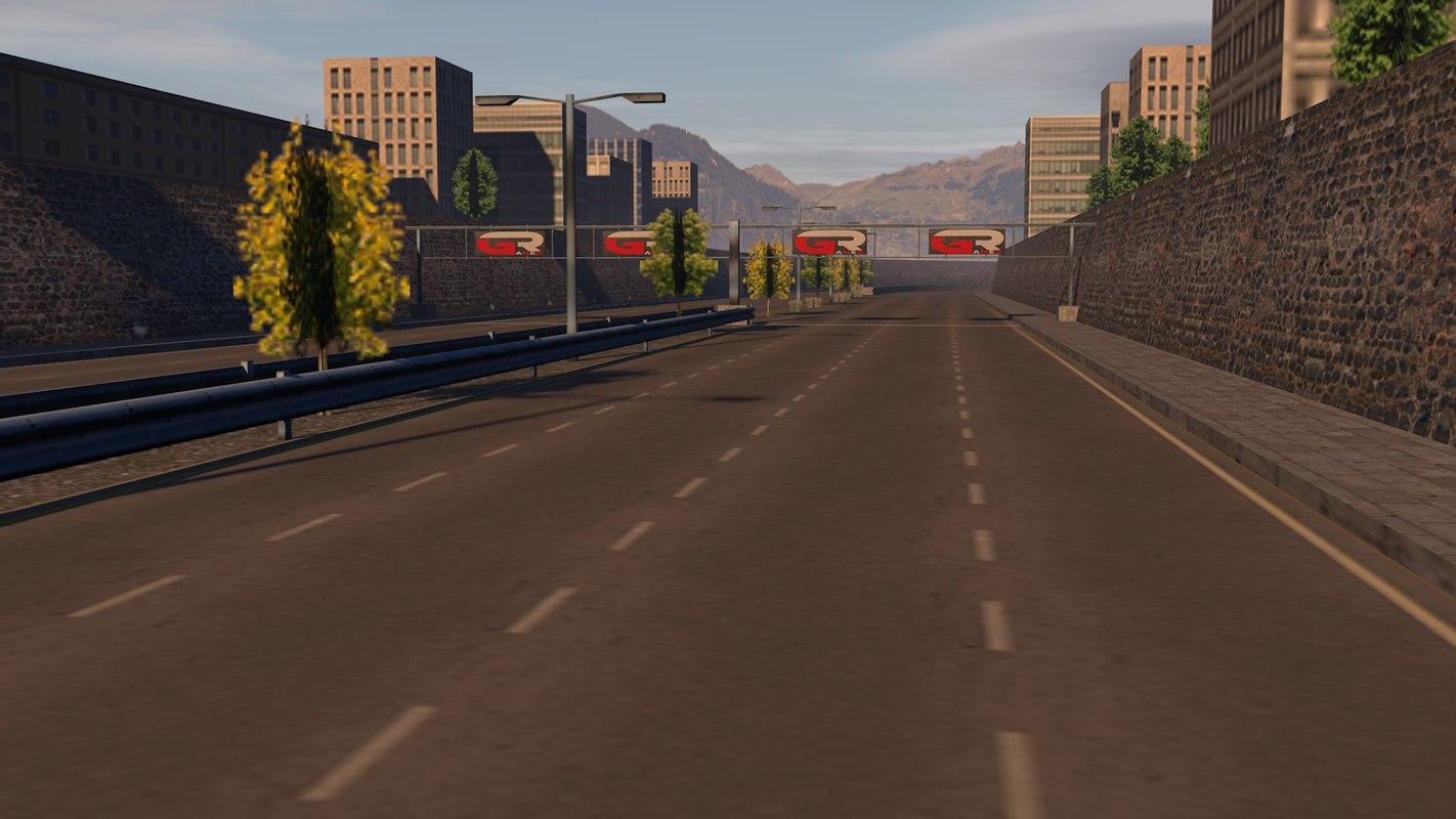road games 3D model