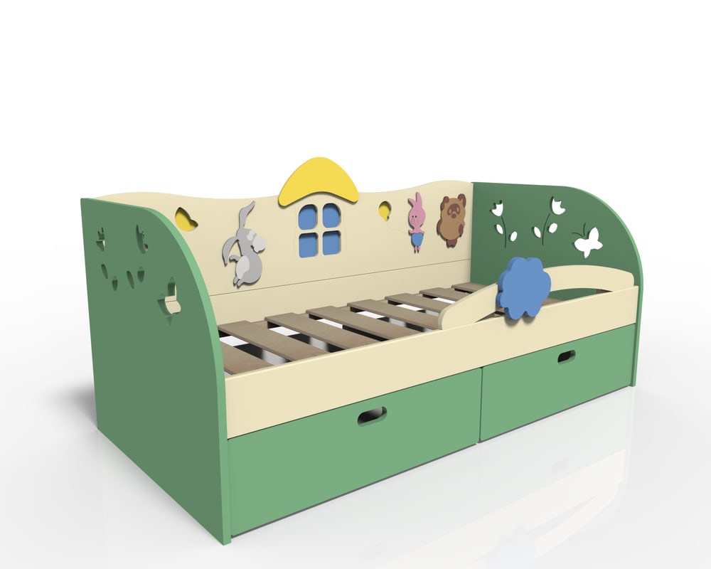 3D model children s bed