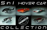 5 1 cool hover car 3D model