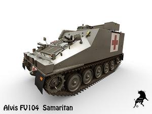 3D fv104 samaritan alvis model