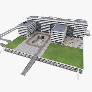 science center building model
