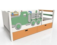 children's  bed Truck