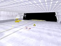 3D station wars hangar corridor