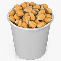 corn kernels cup 2 3D model
