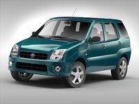 3D - subaru car