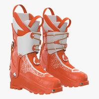 3D ski boots generic